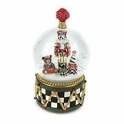 Snow Globe And Music Box, Christmas Decoration, Holiday Collectibles Nutcracker