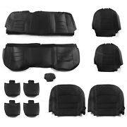 Full Set Seat Covers Factory Style For 13-18 Dodge Ram 1500 2500 3500 Crew Cab