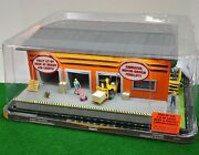 Menards 279-5098 Schneider Freight Building O-scale Led Lights And Animated New