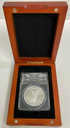 2012-s Silver Eagle Supplemental Mint San Francisco Anacs Certified Ms70
