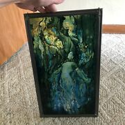 Deco Louis Comfort Style Stained Glass Suncatcher Mermaid Fmnh Read H2