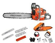 62cc Cutting Performance 2-cycle Handheld Gas Powered Chainsaw 18-inch