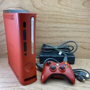 Xbox 360 Elite Resident Evil 5 Limited Edition 120gb Red Console Preloaded Games