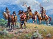 Martin Grelle Distant Signals Giclee On Canvas 40x30