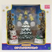 Sylvanian Families Pre-order White Christmas Set Calico Critters Epoch Japan