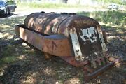 Antique Tank/ Tanker Bed For Fuel Delivery Truck