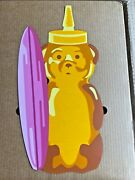Fnnch Pink Surfboard Honey Bear Maple Wood Limited Edition Xx/46 11x22 Sold Out