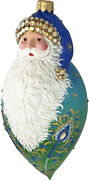 Noble Claus Peacock 2020 Sold Out Santa Patricia Breen Ornament