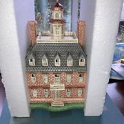 Lefton Colonial Village—1996 The Williamsburg Collection-the Governor Palace1772