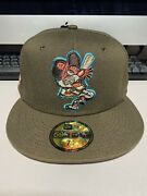 Exclusive Fitted 7 1/4 Walnut Detroit Tigers Coked Out Lsd Tiger Not Hat Club