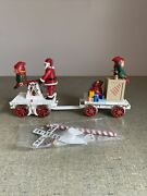 Bauchmann Christmas Hand Car In Mailer 96241 G Scale New In Box Christmas Ready