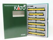 N Scale Kato 106-093 Cnw Chicago And North Western 6 Car Smoothside Passenger Set