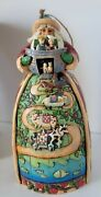 Jim Shore Two By Two Santa With Noah's Ark Figurine Mint Cond With Box Preown