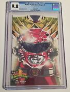 Mighty Morphin Power Rangers - Red Ranger Dragon Shield 0 Exclusive Cgc 9.8