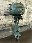 Vintage 5 Hp Johnson Outboard Boat Motor Model Td20 - As Is For Parts Or Repair