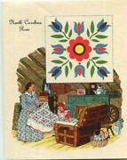 Vintage Attic Hope Chest Spinning Wheel Nc Rose Mom Daughter Quilt Card Print