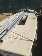 Laser Sailboat Dinghy Full And Radial