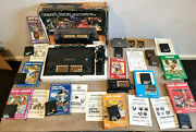 Pal 1981 Rare Creativision Console Vintage Lot X8 Video Games Controller Cables