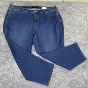 Talbots Petites Jeans Womens 22wp Flawless Five Pocket Slim Ankle New
