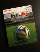 Pes 2014 World Challenge Dlc - Ps3 Steelbook Only Excellent Condition