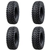 4 Pack Tusk Aramid Terrabite® 10 Ply Tire 30x10-14 For Can-am Outlander 570 X