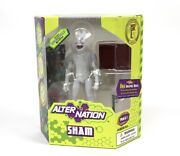 Sham Alter Nation Action Figure By Panda Mony Exclusive You Design Camo Rare Toy