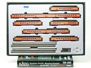 N Scale Kato 106-060 Sp Southern Pacific 10 Car Passenger Set W/display Unitrack