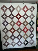Antique C1875 Friendship Quilt Top Chimney Sweep Louisa Lovell Coventry Ri Signe