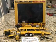 Gmp 118th Scale Corvette Racing Transporter And Shop Set Up Die-cast Mint