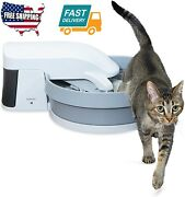 1 Pack Home Room Pet Safe Clean Self Cleaning Automatic Cat Litter Box Supplies