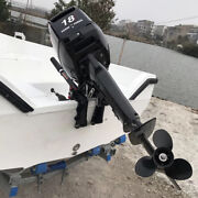 2-stroke 18hp Outboard Motor Engine Fishing Boat Cdi Water Cooling System 13.2kw