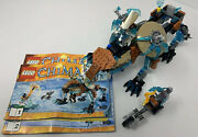 Lego Legends Of Chima 70143 Sir Fangars Saber-tooth Walker. Mini Figures Books