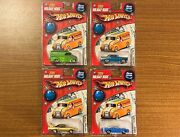 Hot Wheels 2006 Holiday Rods Christmas Cars Limited Set 4 Out Of 5 Lot 164 Nip