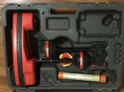 Ridgid Navitrack Ii Pipe Locator/tracer W/hard Carry Case And Sonde Spring Carrier