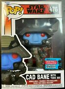 In Hand Funko Pop Star Wars Cad Bane With Todo 360 Nycc 476