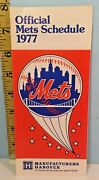 1977 New York Mets Spring Training Baseball Roster Schedule