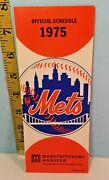 1975 New York Mets Baseball Spring Training Roster And Schedule
