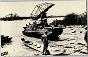 Duck Boats Used In Wwii, Rhine River Vintage Postcard D70