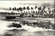 Duck Boats Used In Wwii, Guadacanal Amphibious Vehicle Vintage Postcard D70