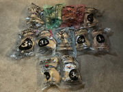 Vintage Taco Bell Lot Of 11 Pcs Chihuahua Talking Dog Plush New Different Kinds