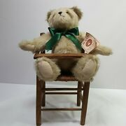 Boyds Bears Cooper Bear Retired Wooden High Chair Collectible 15 Vintage