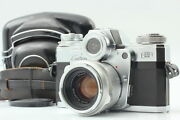 [almost Mint In Case] Zeiss Ikon Contarex Type 1 + Planar 50mm F2 From Japan