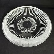 Lalique Marguerites Frosted Crystal Bowl With Daisy Pattern 13 Wide X 3 Tall
