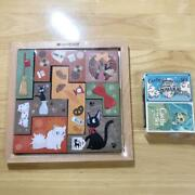 Kiki's Delivery Service Wooden Tile Puzzle Laputa Castle In The Sky Matches