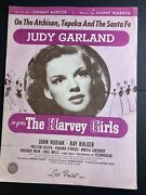 Harvey Girls 1945 On The Atchison Topeka And The Santa Fe Judy Garland Sheet Music