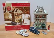 New Department Dept 56 The Prescott Hotel Christmas In The City W/accessories