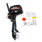 6 Hp 2stroke Hangkai Outboard Motor Fishing Boat Engine Water Cooling Cdi System