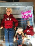 Mattel 1997 Barbie And Kelly Gap Gift Set Special Edition Collectible Dolls 18547