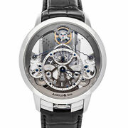Arnold And Son Time Pyramid Manual Mens 44mm Watch 1tpas.s01a.c124s