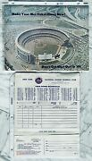 1969 Ny Mets Ticket Plan And 1969 Home Schedule Ticket Manager Envelope Shea Rare